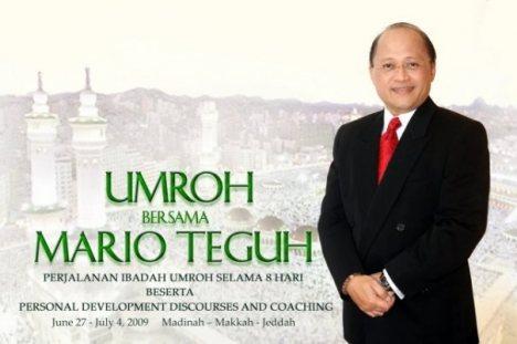 Mario Teguh on Mario Teguh Muslim