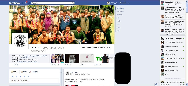 22 september 2011 memperkenalkan facebook timeline dengan facebook